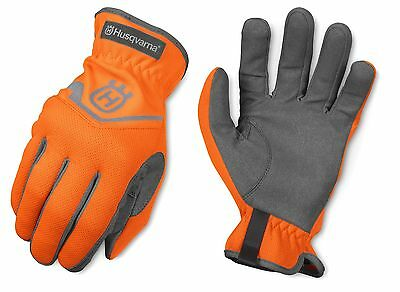 Husqvarna Classic General Purpose Work Glove High VIZ Gloves Breathable