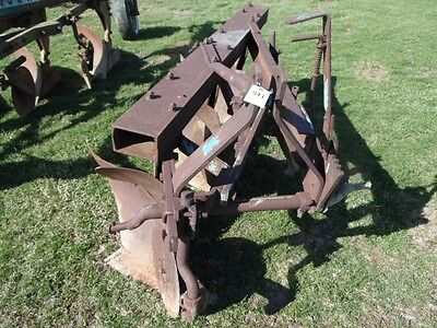 Ford 140 3-Point Tractor Plow w/ Cutters, Big Beam, Tag #941