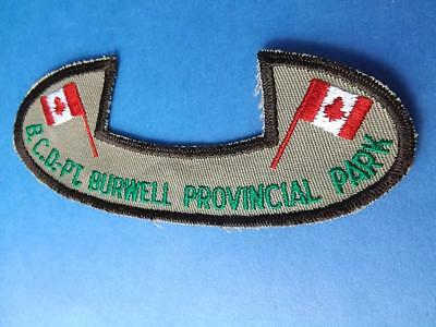 Boy Scouts Port Burwell Provincial Park Canoe Canada Patch Vintage Collector