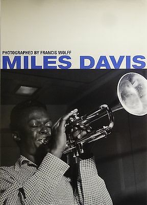 Miles Davis 24x34 Photographed Francis Wolff Music Poster 2000 Last One S502
