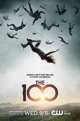 The 100 Poster 61x91 cm