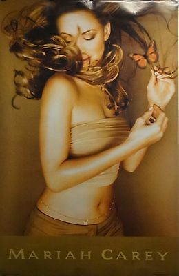 Mariah Carey 23x35 Butterfly Music Poster 1997 Last One S502
