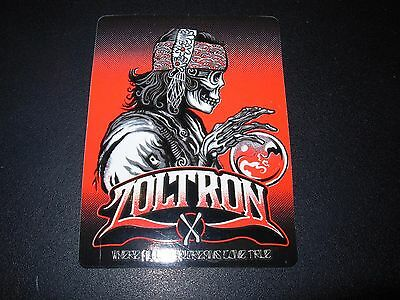 "ZOLTRON Art Sticker 2.75"" GYPSY like art from poster print"
