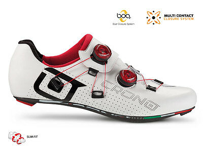 Scarpe Corsa CRONO CR1 Carbon Bianco/Nero/SHOES CRONO CR1 WHITE/BLACK CARBON