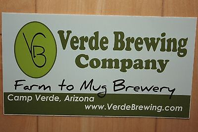 VERDE BREWING COMPANY STICKER decal craft beer brewery