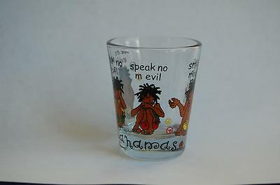"Bahamas ""See no Evil,Hear no Evil,Speak no Evil, Smile Mon!"" Small Shot Glass"
