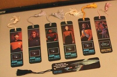 Star Trek The Next Generation Book Marks set of 7