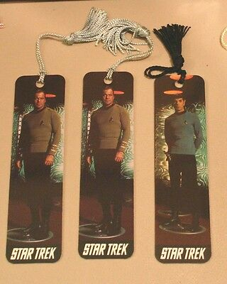 Star Trek Captain Kirk and Mr. Spock Book Marks