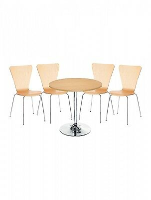 Bistro Table & Chair Set Cafe, Bar, Resaurant, Walnut or Beech