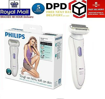 Philips Double Contour 3-in-1 Sensitive Ladyshave Women Shaver HP6366/02