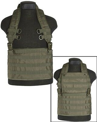 Chest Rigg Molle Expandable Oliv Weste Military Airsoft Paintball Outdoor Neu