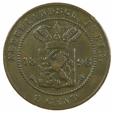 Netherlands East Indies, 1 Cent, Indonesia, Asia, 1896