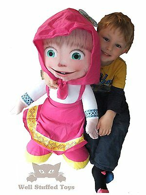 Masha and the Bear - Large Soft Toy 50cm Official Masha Plush