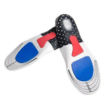 Premium Orthotic Support Gel Insoles - Heel Arch Foot Support - Sport Insoles