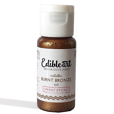 Burnt Bronze  Edible Art Paint 15ml