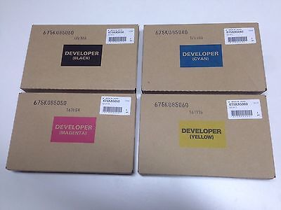 Xerox Developer Set Cmyk 7525 7530 7535 7545 7556 7830 7835 7845 7855 7970 7800