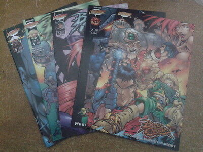 BATTLE CHASERS. Completa, 5 números