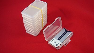20 X Plastic Cases For Memory Stick Pro duo Adapter