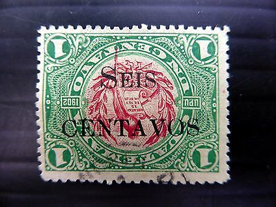 GUATEMALA 1916 Inverted/OPT SG152d Fine/Used FP9887