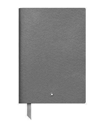 Montblanc Leather Lined 146 Notebook Flannel Grey New