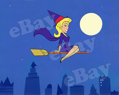 EXTRA LARGE! BEWITCHED Poster Print HANNA BARBERA Elizabeth Montgomery
