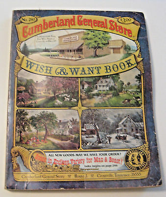 Vintage Cumberland General Store Catalog ~ Crossville Tennessee ~ Cheap Pricing