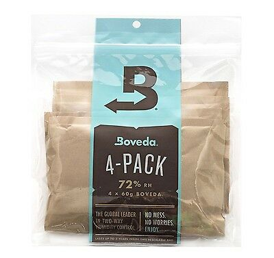 Boveda 2 Way Humidity Control for Woodwind Reeds Large 60g 4 Pack
