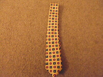 Designer Browbands Competition Show Equestrian Tie childs yellow/red/navy blue
