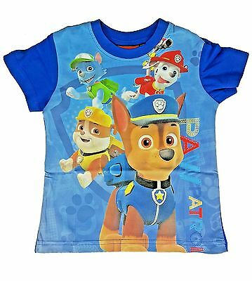 Paw Patrol Boys//Girls Rocky Short-Sleeved Face T-shirt//Top Sizes 2 to 7 years