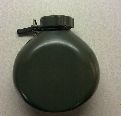 Vintage 1980'S Hungarian Army Metal Canteen Bushcraft