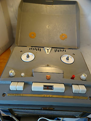 1960  PHILIPS  Reel-To-Reel 3515A Works