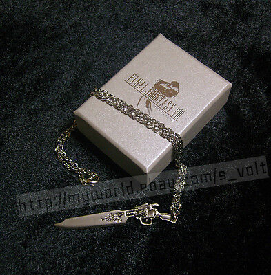 FREE Shipping! Final Fantasy VIII Squall Gunblade Necklace FF8 Cosplay Cloud