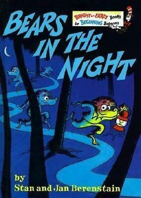NEW Bears in the Night By Stan Berenstain Paperback Free Shipping