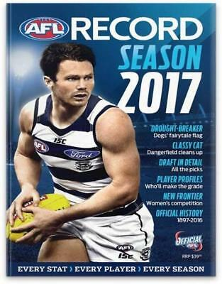 NEW AFL Record Season Guide 2017 By Michael Lovett Paperback Free Shipping