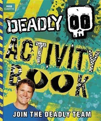 NEW Deadly Activity Book By Steve Backshall Paperback Free Shipping