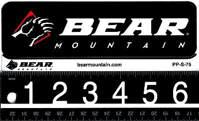 BEAR MOUNTAIN STICKER Big Bear Mountain Sticker/Decal Snowboarding Skiing