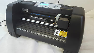 New Jet Black Refine Mh365 Vinyl Cutter Plotter Sign Writing Machine