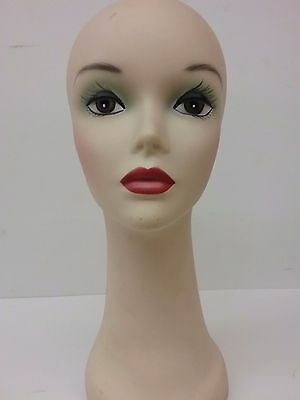"REALISTIC 16"" Tall Troika SALON & STYLIST Mannequin Head For Hats Wigs Or Crafts"