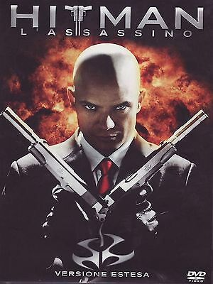 FILM DVD - HITMAN - L'ASSASSINO VERSIONE INTEGRALE ESTESA - Nuovo!!