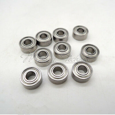 10PCS Mini MR62ZZ (2x6x2.5mm) Metal Shielded PRECISION Ball Bearings