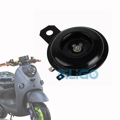 12v Loud Black Universal Replacement Horn with Bracket For Motorcycle Bike