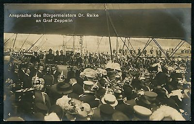 Germany 1909 Airship Luftshiff Graph Zeppelin  Berlin Collection Pc Vf Used