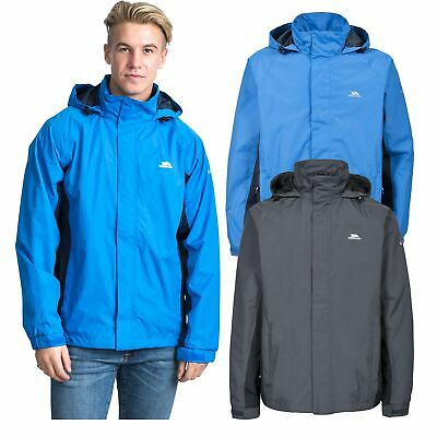 Trespass Rogan II Mens Waterproof Jacket Casual Raincoat with Hood