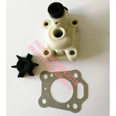 Impeller and water pump for Tohatsu Nissan Mercury Outboard motor 4HP 5HP 6HP