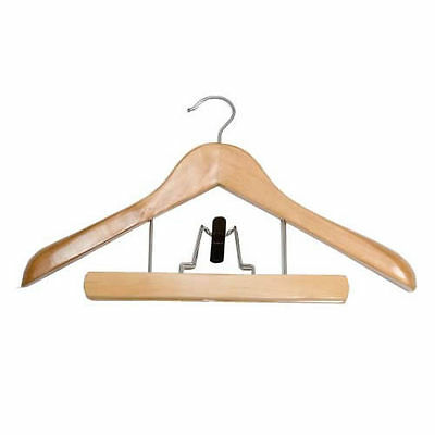 Caraselle Wooden Laminated Trouser Hanger 37cms wide from