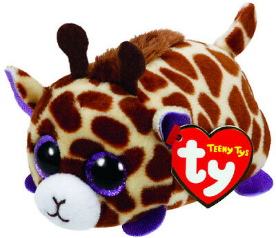 TY Beanie Baby Teeny Tys Mabs the Giraffe Soft Toy