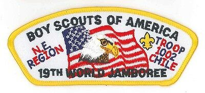 1999 World Scout Jamboree USA BOY SCOUTS OF AMERICA NE REGION TROOP JSP Patch