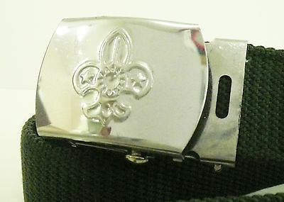 TAIWAN SCOUTS OF CHINA SCOUT MEMBER Metal BRONZE COLOR Buckle /& Belt ~ MINT