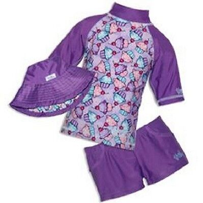 New Uvskinz Uv Skinz Girls Swimsuit Swim Set Many Sizes, Colors & Styles