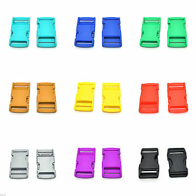 High Quality Side Release Buckles Clips ✄ Various Colours ✄ 10,15,20,25,30,40 mm